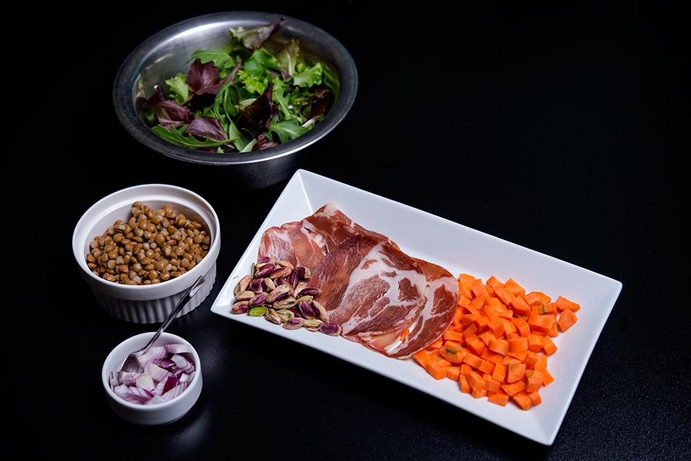 salata calduta cu linte si fistic (2)