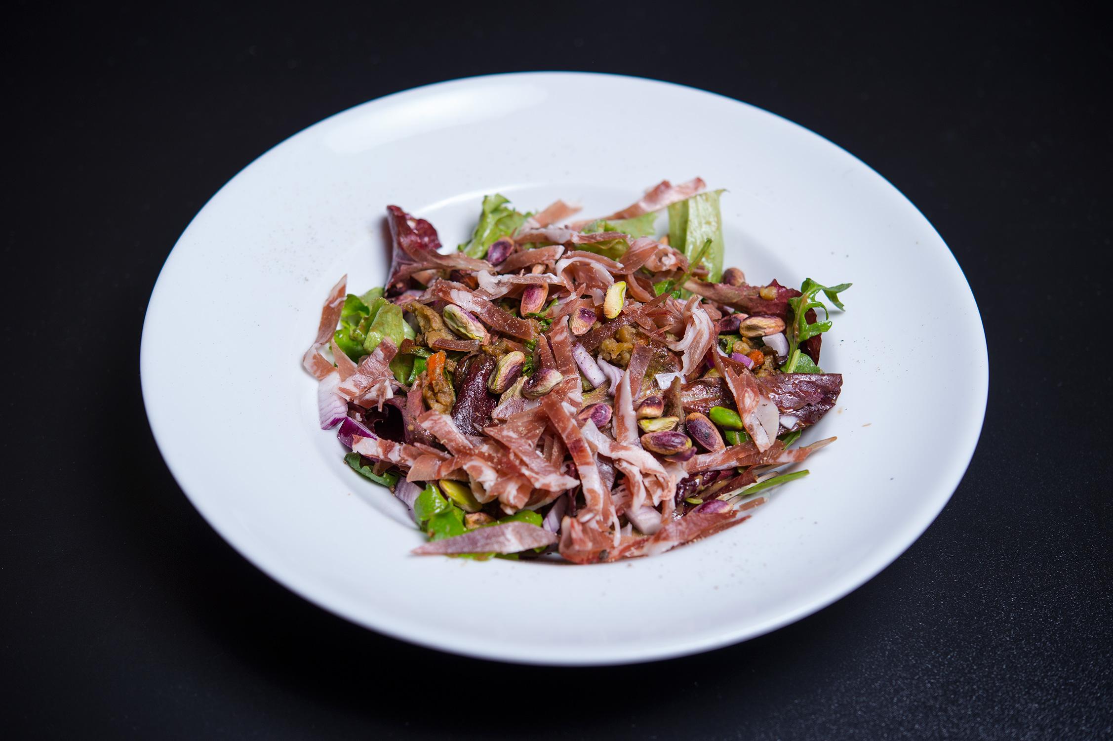 salata calduta cu linte si fistic (6)
