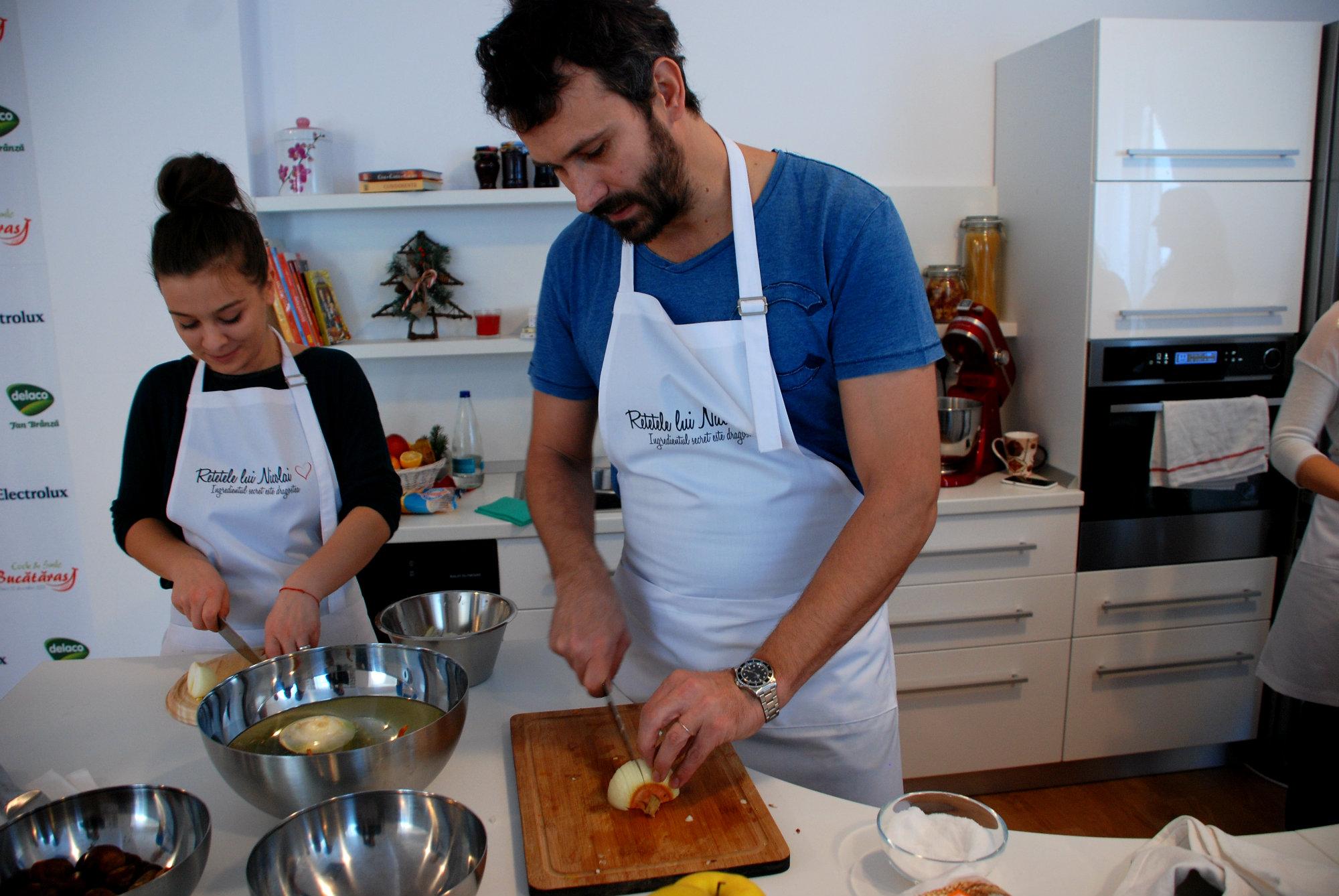 cursuri de gatit cu nicolai- sarmale ca la maramu (2)